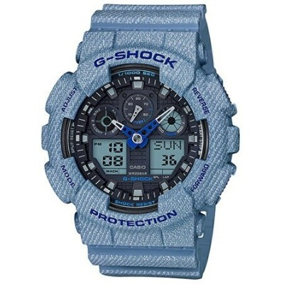G-SHOCK/BABY-G/PRO TREK G-SHOCK/(M)GA-100DE-2AJF/DENIM 'D COLOR カシオ ファッショングッズ【送料無料】