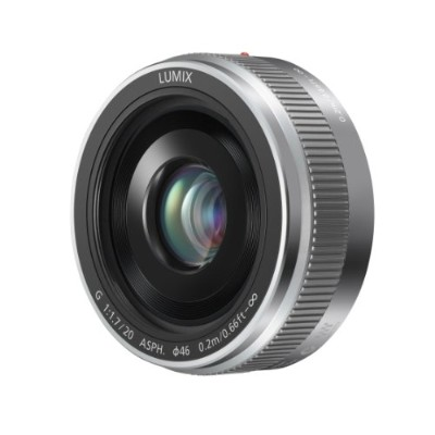 PANASONIC LUMIX G II レンズ, 20MM, F1.7 ASPH., MIRRORLESS MICRO FOUR THIRDS, H-H020AS (USA SILVER) ...