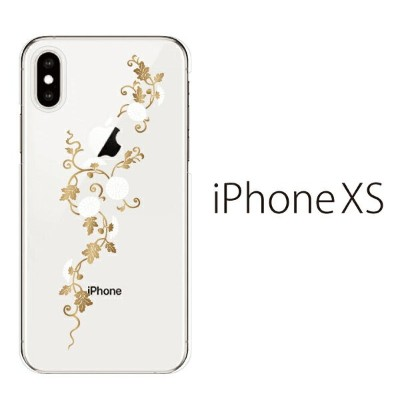 Plus-S iPhone xs ケース iPhone xs max ケース iPhone アイフォン ケース つるとアサガオ iPhone XS iPhone X iPhone8 8Plus...