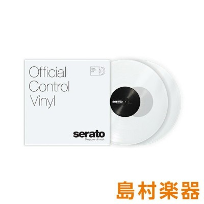 Serato Control Vinyl Performance Series [ Clear] クリアー 2LP Scratch Live用コントロールバイナル 【セラート】