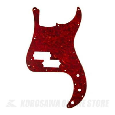 Fender Made In Japan Classic Precision Bass 13-Hole 4-Ply Red Tortoise Shell Pickguard Made in...