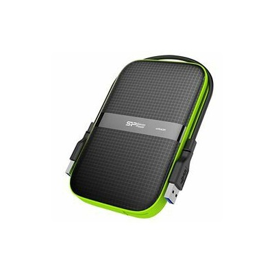 Silicon Power Armor A60 USB3.0/2.0対応ポータブルHDD 1TB SP010TBPHDA60S3K 取り寄せ商品