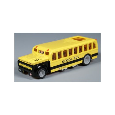 【あす楽】AW 4Gear-S'cool Bus (Yellow) HOスロットカー