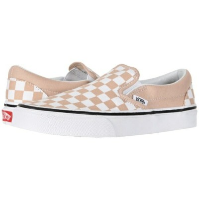 バンズ メンズ スニーカー シューズ Classic Slip-On (Checkerboard) Frappe/True White