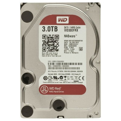 WESTERN DIGITAL 内蔵型 3TB HDドライブ WD Red WD30EFRX [WD30EFRXC]【APRP】