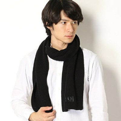 【18AW】WAFFLE KNIT SCARF/フレッドペリー(雑貨)(FRED PERRY)