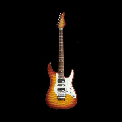 Schecter / SD-DX-24-AS-R Lemon Drop Sunburst シェクター エレキギター 【お取り寄せ商品/納期別途ご案内】