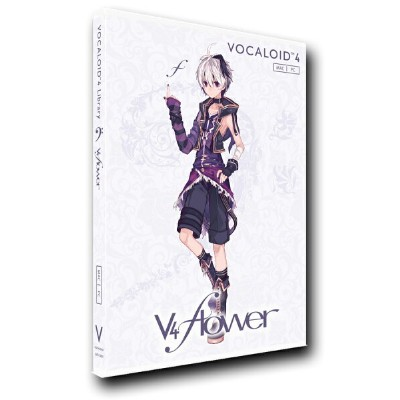 gynoid VOCALOID4 Library v4 flower 単体版 ガイノイド【WEBSHOP】