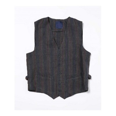 [Rakuten BRAND AVENUE]【SALE/50%OFF】LIGIHTWEIGHT LINEN VEST Altea ナノユニバース カットソー【RBA_S】【RBA_E】【送料無料】