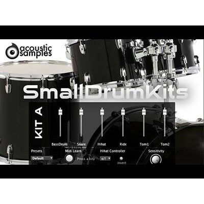 acoustic samples/SmallDrum Kits【オンライン納品】【FOMIS】