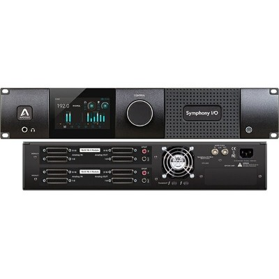 ●Apogee Symphony I/O MKII Thunderbolt Chassis with 16 Analog In + 16 Analog Out + 16 Analog In + 16...