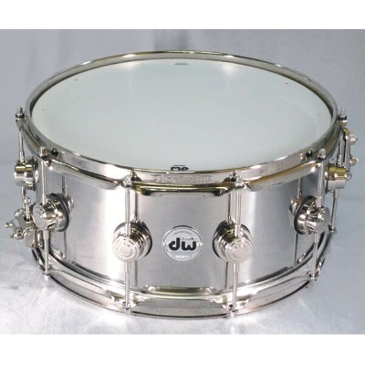 "dw DW-SS1465SD/STAIN/N [Collector's Metal Snare / Stainless Steel 14"" × 6.5""]"