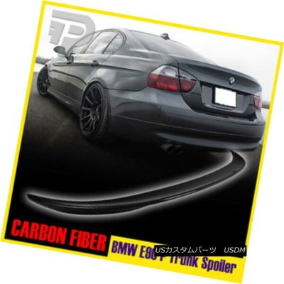 エアロパーツ CARBON FIBER BMW E90 SEDAN HIGH KICK PERFORMANCE TYPE REAR TRUNK SPOILER ▼ カーボンファイバーBMW...