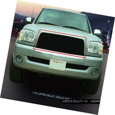 USグリル Fedar Fits 2003-2006 Toyota Tundra Black Main Upper Billet Grille Fedar Fitting 2003-2006...