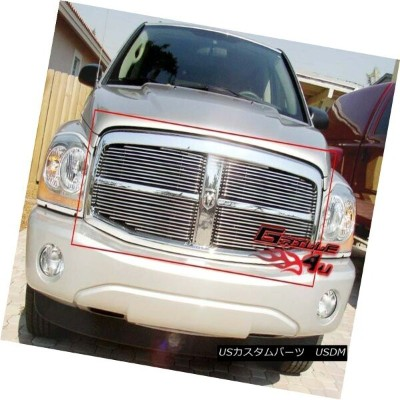 USグリル Fits 2004-2006 Dodge Durango Main Upper Billet Grille Insert 2004-2006 Dodge Durangoメインアッパービレッ...