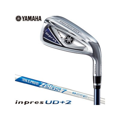 [SALE価格]ヤマハ 2019 インプレス UD+2 アイアン 単品[#5、#6、AW、AS、SW] N.S.PRO ZELOS 7 スチールシャフト