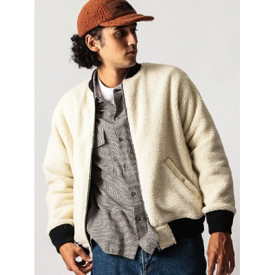 [Rakuten BRAND AVENUE]【SALE/50%OFF】【WEB限定】 by リバーシブル ボア/キルティング ブルゾン BEAUTY & YOUTH UNITED ARROWS...