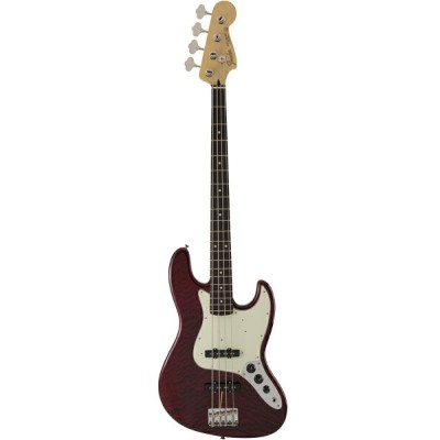 Fender FSR Made in Japan Hybrid 60s Jazz Bass Quilt Top / Transparent Red 新品[フェンダージャパン][ハイブリッド][Red...