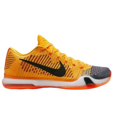 "Nike Kobe X 10 Elite Low ""Chester""メンズ Total Orange/White/Laser Orange/Tumbled Grey ナイキ コービー バッシュ"