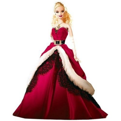 Mattel マテル社 Barbie バービー 2007 Holiday Collector Doll 人形 ドール