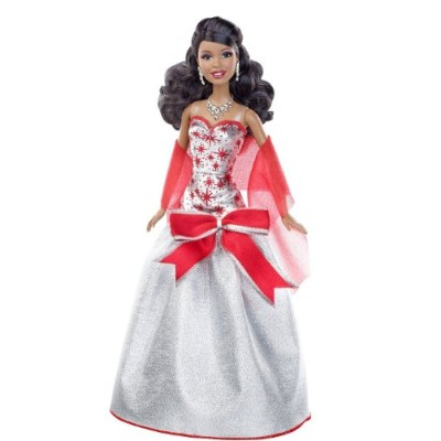 Barbie バービー Holiday Sparkle Barbie バービー African-American Doll 人形 ドール