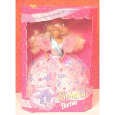 1994 Happy Birthday Barbie バービー Doll Confetti Gown 人形 ドール