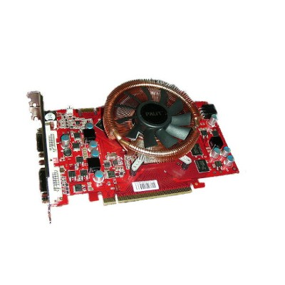 PALiT Geforce 9600GT 512MB GDDR3 ZALMAN Cooler DVI-Ix2/S-Video XNE/9600TXT352-PM8694 【中古】【送料無料セール中!...
