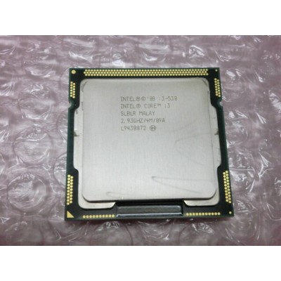 中古CPU Core i3 530 2.93GHz/4M/SLBLR)