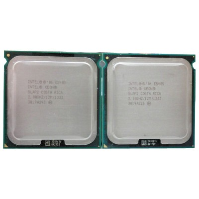 Xeon E5405 2.0GHz/12M/1333/SLAP2 2個Set Quad core 【中古】