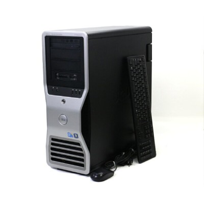 DELL Precision T7500 Xeon X5570 2.93GHz 6GB 250GB Quadro FX1800 BD-RE Windows7 Pro 64bit 【中古】...