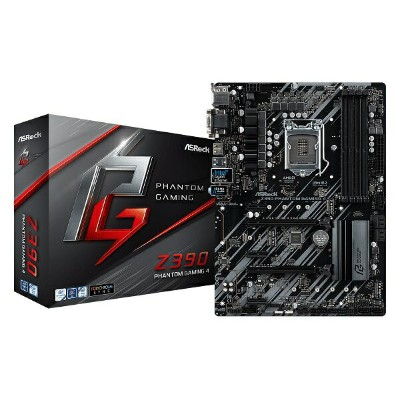 ASRock Z390 PhantomGaming 4 (MB4606) Intel Z390 ATXマザーボード