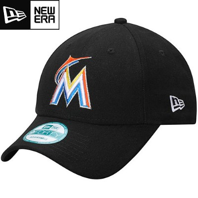 MLB マーリンズ レプリカキャップ(ホーム) New Era Miami Marlins Replica Adjustable Home Cap
