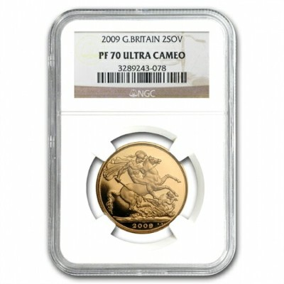 Great Britain 2009 Gold 2 Pounds PF-70 UCAM NGC