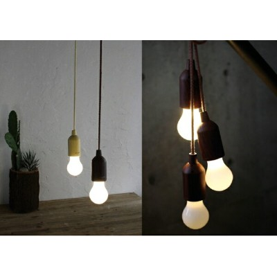 Time Concept Smile D/écor Rope Lamp 2 Piece SFKH1420BR; SFKH1420BR