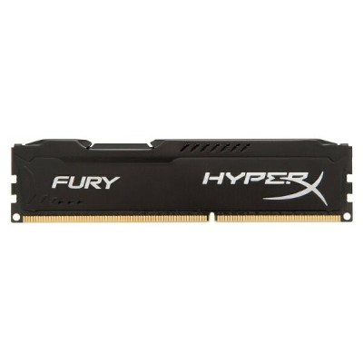 キングストン HyperX FURY Black 4GB 1866MHz DDR3L CL11 DIMM 240pin 1.35V HX318LC11FB/4