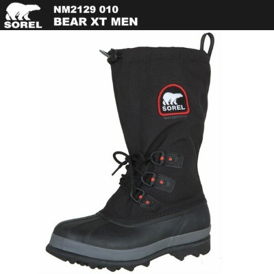 SOREL(ソレル) ベアーXT NM2129 010(Black, Red Quartz)