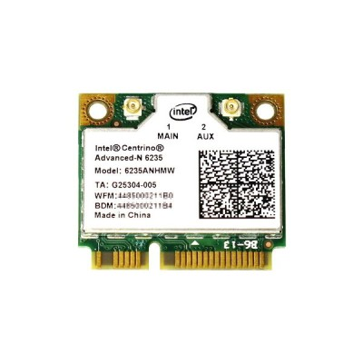 Intel Centrino Advanced-N 6235 Dual Band 802.11a/b/g/n 300Mbps + Bluetooth 4.0 無線 LANカード 6235ANHMW