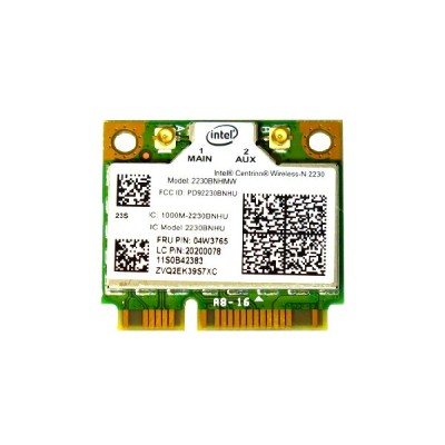 Lenovo純正 04W3765 2020078 Intel Centrino Wireless-N 2230 Single Band 802.11b/g/n 300Mbps + Bluetooth...
