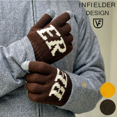 INFIELDER DESIGN インフィールダーデザイン BEER GLOVE 手袋 グローブ メンズ レディース 冬 防寒 グッズ 日本製 プレゼント ギフト