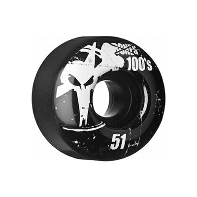 【ボーンズ ウィール】BONES Wheels 100's #8 OG BLACK 51/52/53/54mm