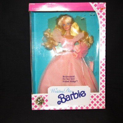 1990年★90's★Bridemaid Barbie★Wedding Day barbie★バービー★人形★フィギュア