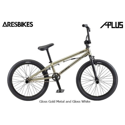 2018モデル ARES BIKES APLUS ゴールドメタル Gloss Gold Metal and Gloss White