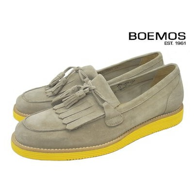 BOEMOS/ボエモス 4281 EARTH (BEIGE) Made in Italy イタリア製
