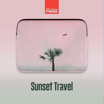 All New Frame Sunset Travel PCケース 13インチ macbook pro 13 ケース macbook 12インチ ケース macbook ケース macbook...