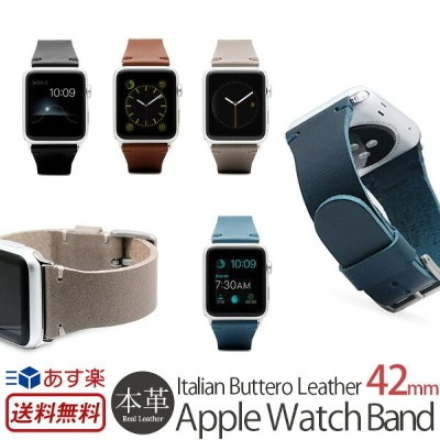 【送料無料】【あす楽】 Apple Watch バンド 革 Series 1 / Series 2 / Series 3 本革 SLG Design AppleWatch 42mm 用 バンド...