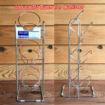 DULTON 100-030R3 Rack for canister ダルトン ガラスキャニスター専用ラック 1列×3段
