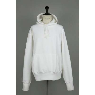 #232 CROSS-KNIT PULLOVER HOODED - WHITE (700059376) Camber(キャンバー)