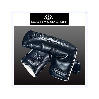 【送料無料】Scotty Cameron CUSTUM SHOP Pinflag LEATHDR Head Cover-moonlight Blue スコッティキャメロン カスタムショップ...
