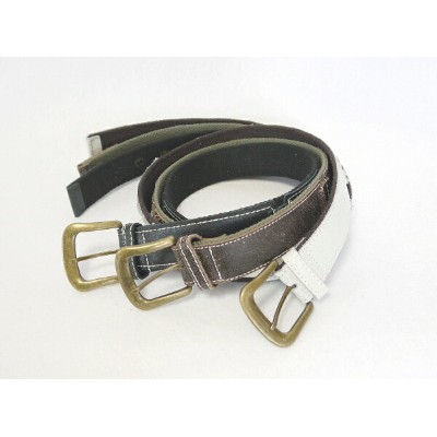 【FAKE LEATHER×COTTON】ANTIQUE切替BELT