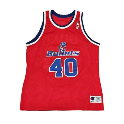 CHAMPION】NBA BULLETS (WIZARDS) CHEANEY BASKETBALL JERSEY [RED:XL(48)] / チャンピオン ブレッツ (ウィザーズ)...